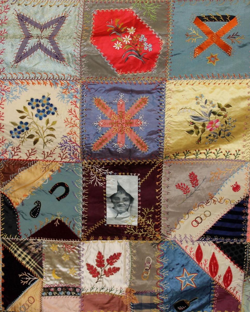 Image of quilt by Florence Ware