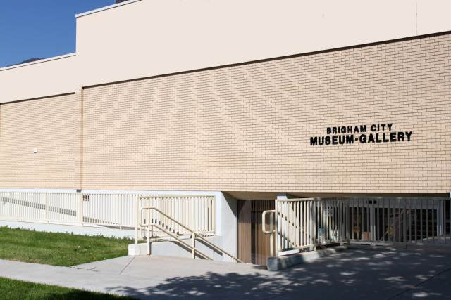 The Brigham City Museum is located at 24 N 300 W, Brigham City, UT 84302